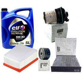 Megane 4 1.5 DCİ Orjinal Yağ Bakım Seti Yağ+Yağ Filtre+ Polen Filtre+Hava Filtre+Mazot Filtre