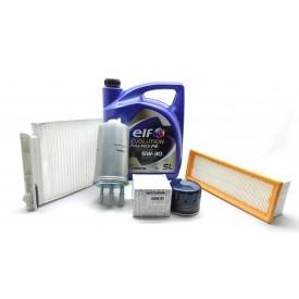 DUSTER 1.5 DCİ K9K YAĞ BAKIM SETİ (Yağ+Yağ Filtre+Hava Filtre+Mazot Filtre+Polen Filtre)